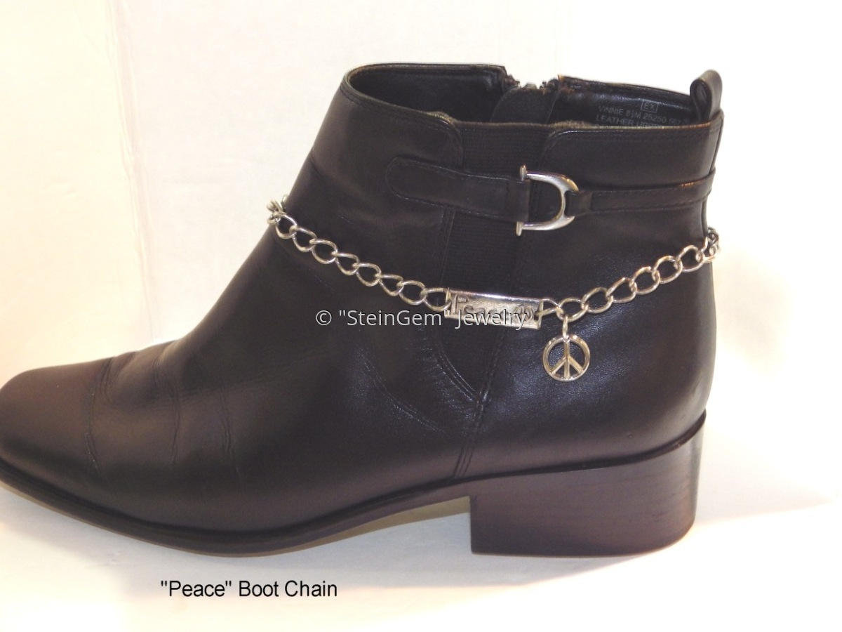 """Peace"" Boot Chain (large view)"