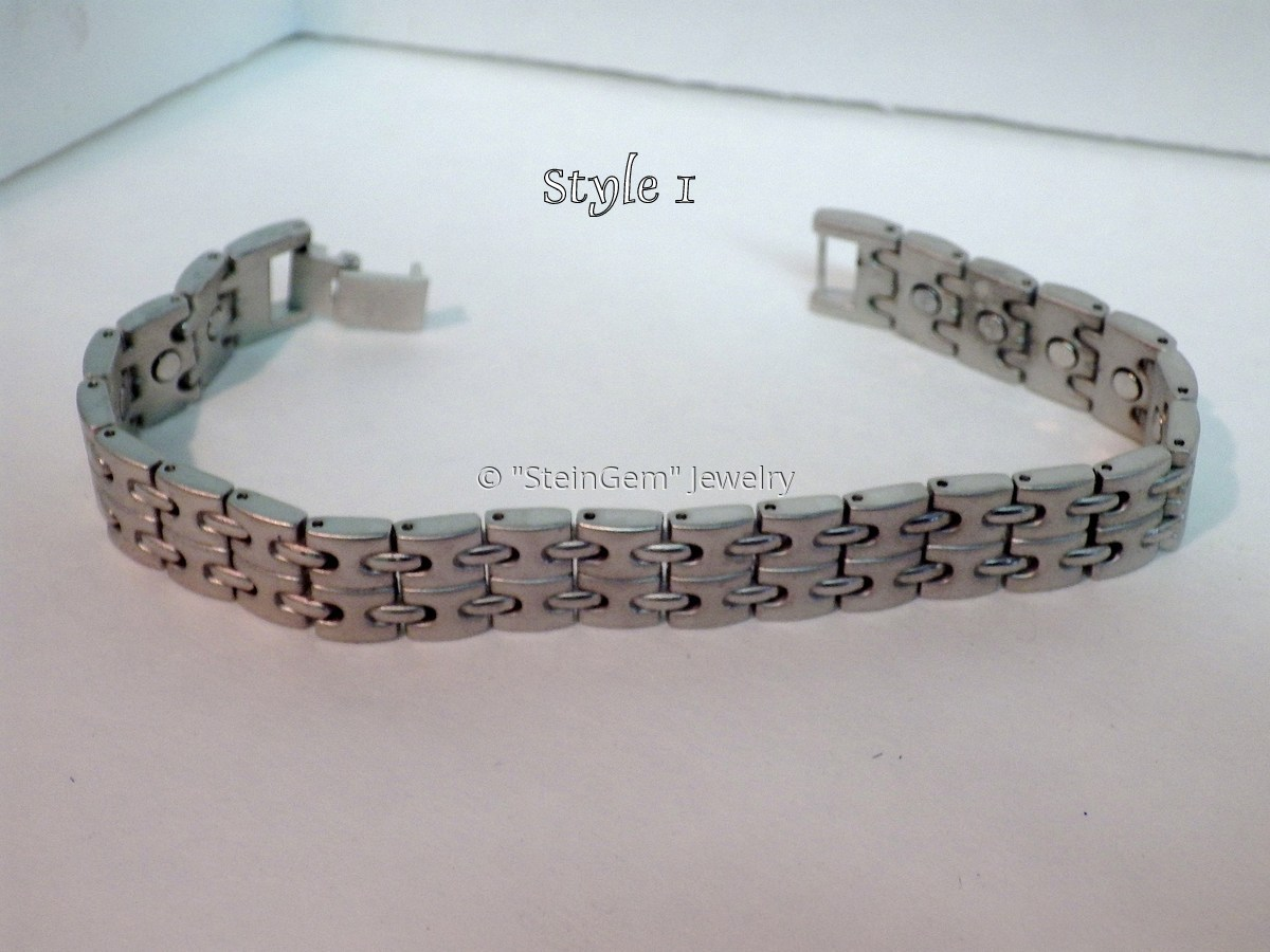 Fashion (Alloy) Magnetic Bracelet #8 (large view)