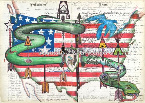 1806 Green Snake Ledger