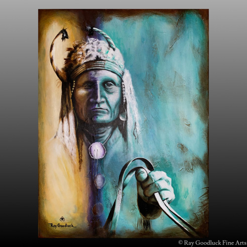 """"""" Spiritual Connection """" by Ray Goodluck Fine Arts"""