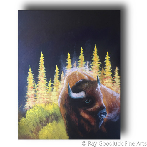 """"""" Cool Breeze """" by Ray Goodluck Fine Arts"""