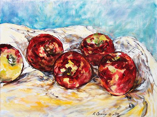 Apples in the Morning by Ruth Greenup