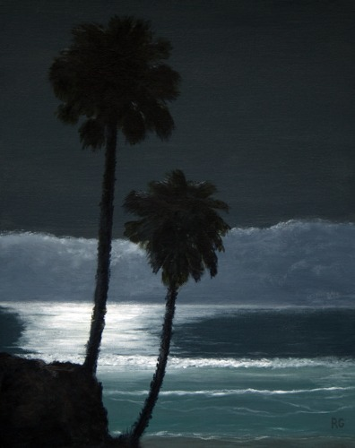 Fletcher Cove Palms by Ray Guichard