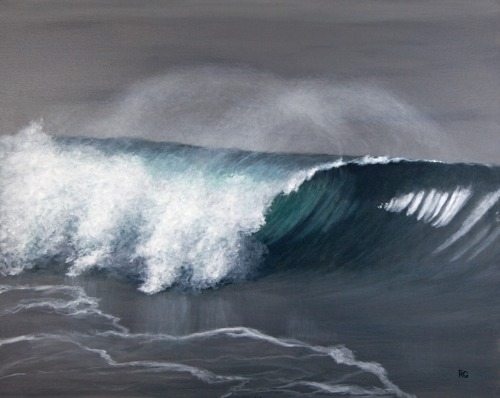 Oceanside Wave by Ray Guichard