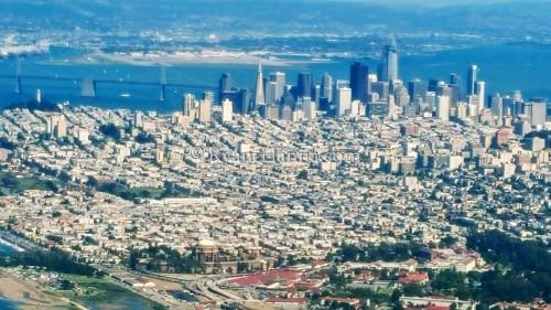 San Francisco Arial shot
