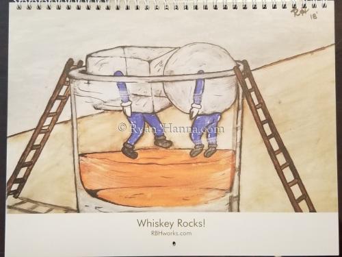 Whiskey Rocks! calendar