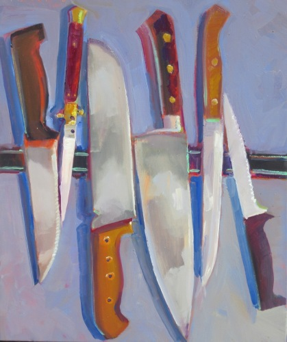 Family Portrait, Knives,