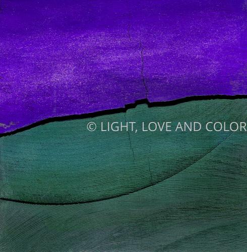 Hilltop Purple sky