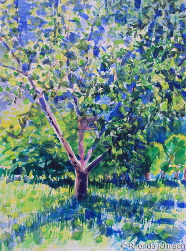 June Apple Tree (large view)