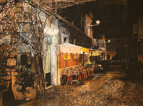 An Evening In Trastevere