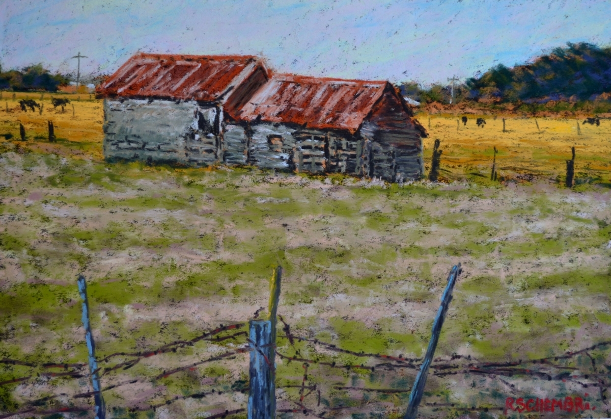 """""""Late afternoon - Koroit"""" (large view)"""