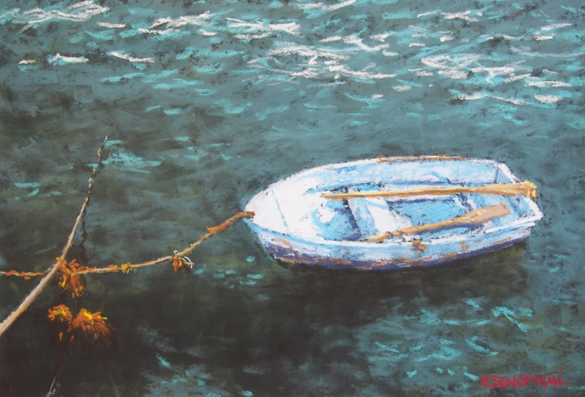 """Boat - Apollo Bay"" (large view)"