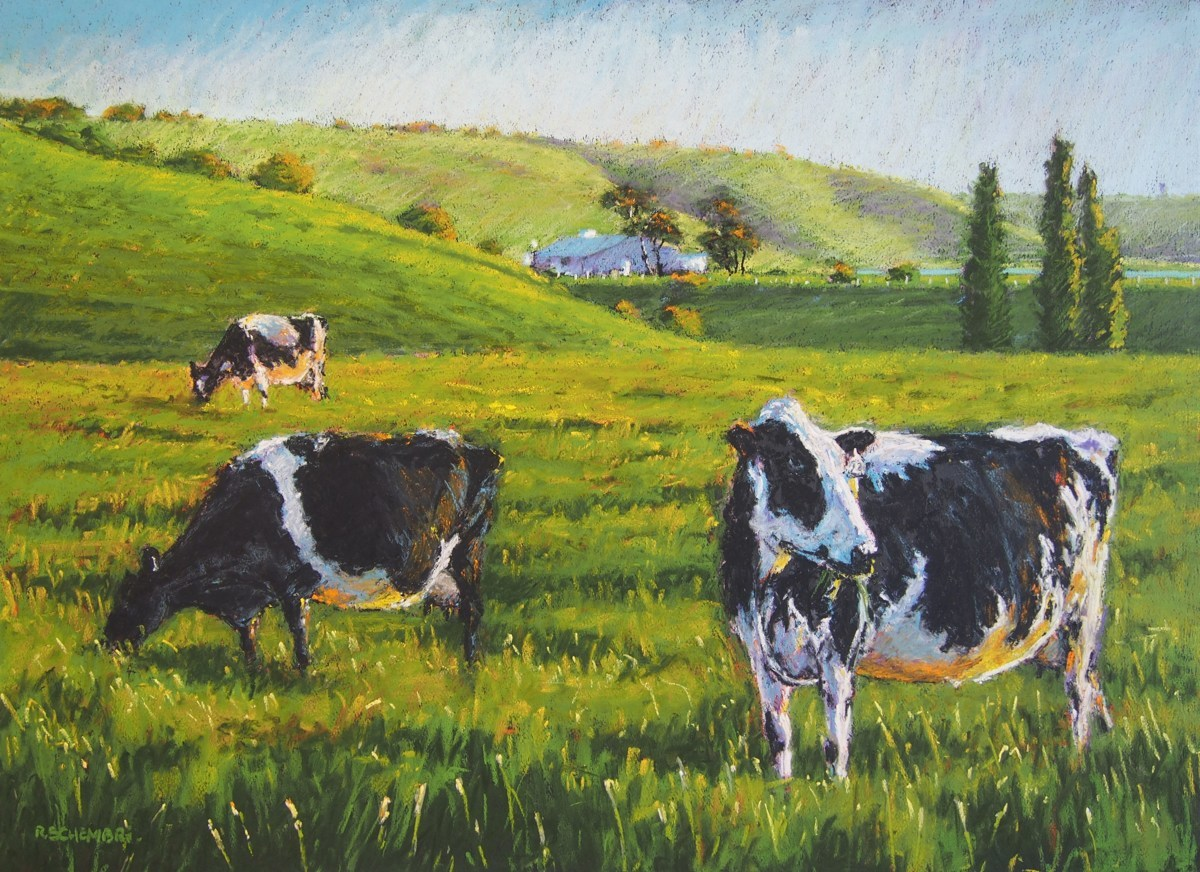 """Cows in Calf"" (large view)"
