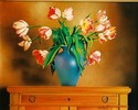 Tulips with Blue Vase (thumbnail)