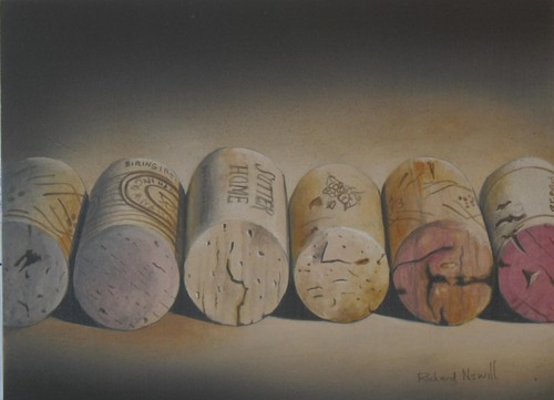 Corks in a Row