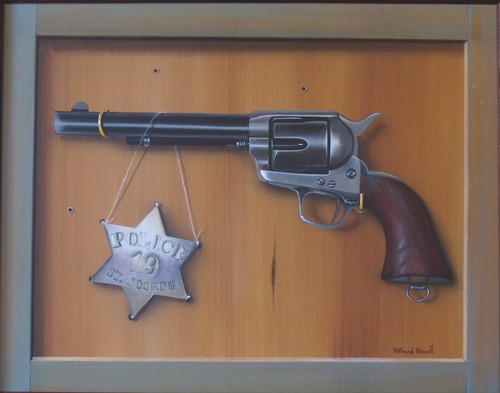 Six Shooter with Badge (large view)