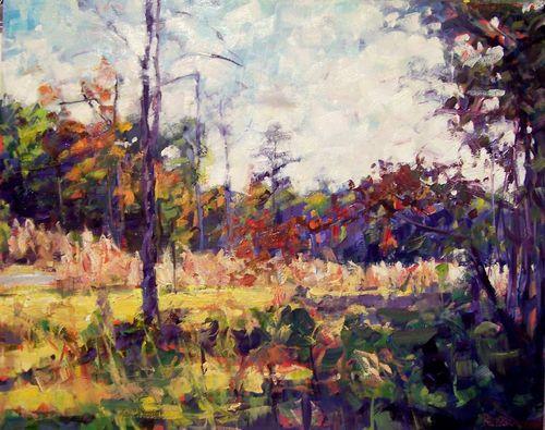 An Autumn Walk by Rick Reinert
