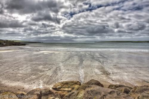 Conemara Ireland Low Tide