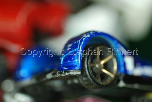 Blue Car Wheels