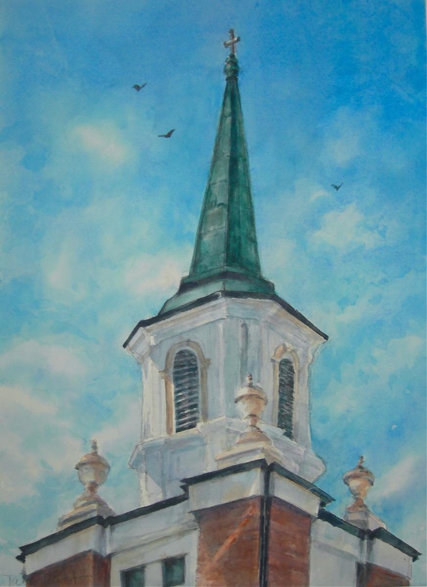 downtown sarasota church steeple (large view)