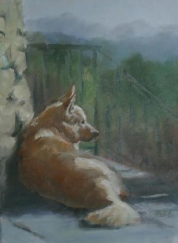 Bocce by Rita Pelot