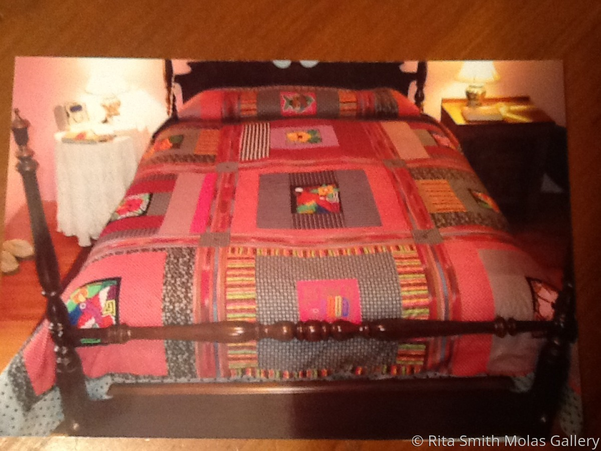 Mola Quilt #1236 (large view)