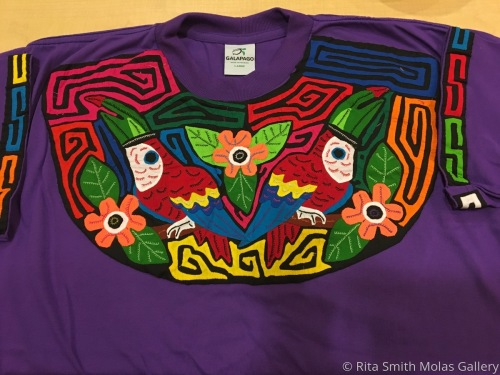 Toucan Mola T-shirt San Blas Panama #1195