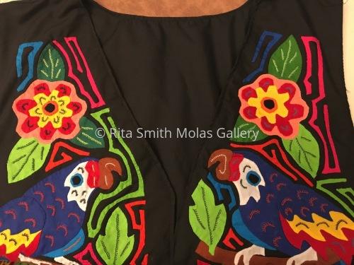 Bird Mola Vest San Blas Panama #1213