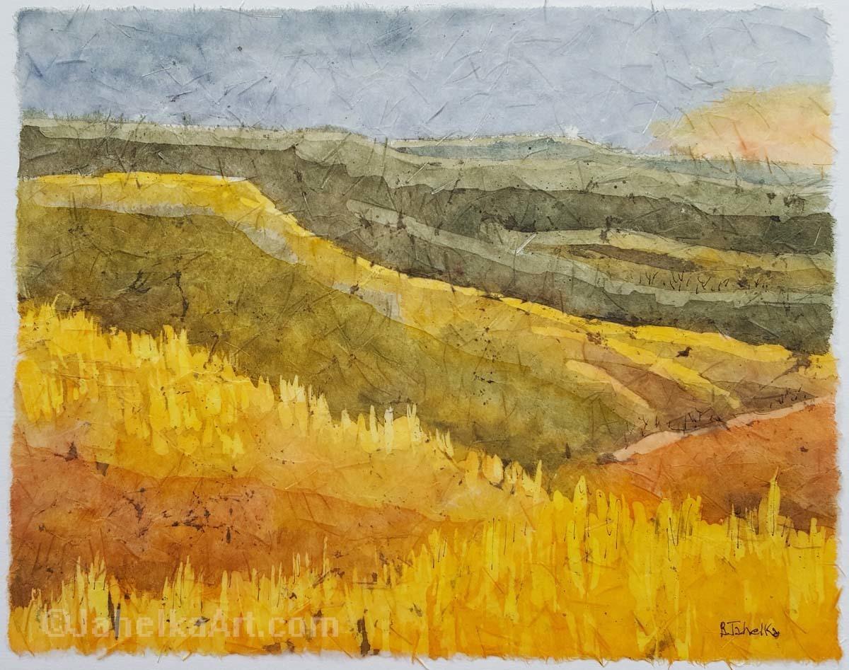 Flint Hills at Sundown  (large view)