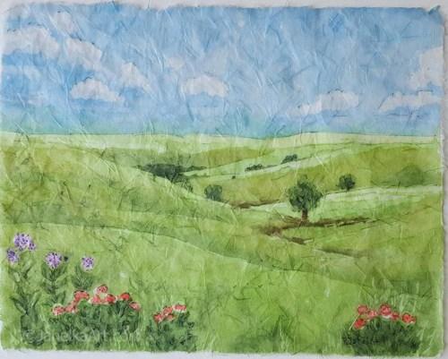 Tallgrass Summer by JahelkaArt
