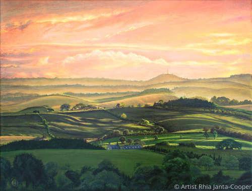 Meandering Meadows by Bellingham, Northumberland