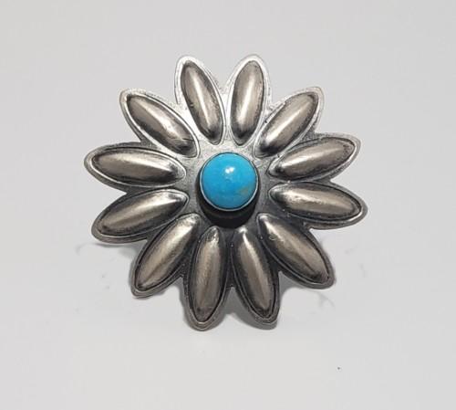 Sunflower Adjustable Ring by Robert Johnson Jewelry