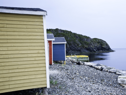 Newfoundland Boathouses