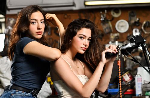 Carly and Martina Harley Girls