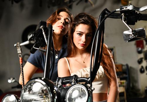 Carly and Martina Harley Girls 2