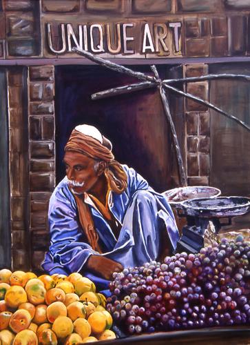 Fruit Seller, Turkey