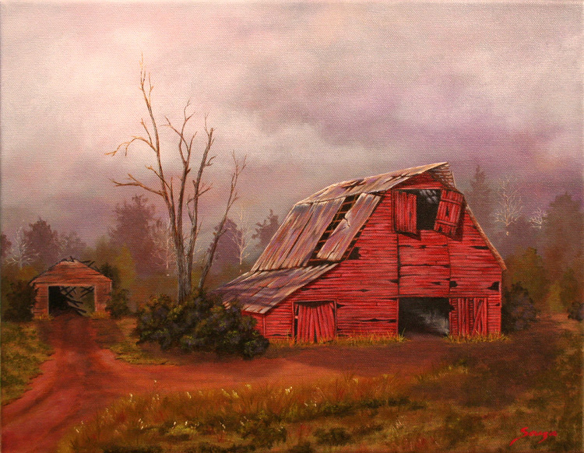 The Old Red Barn (large view)