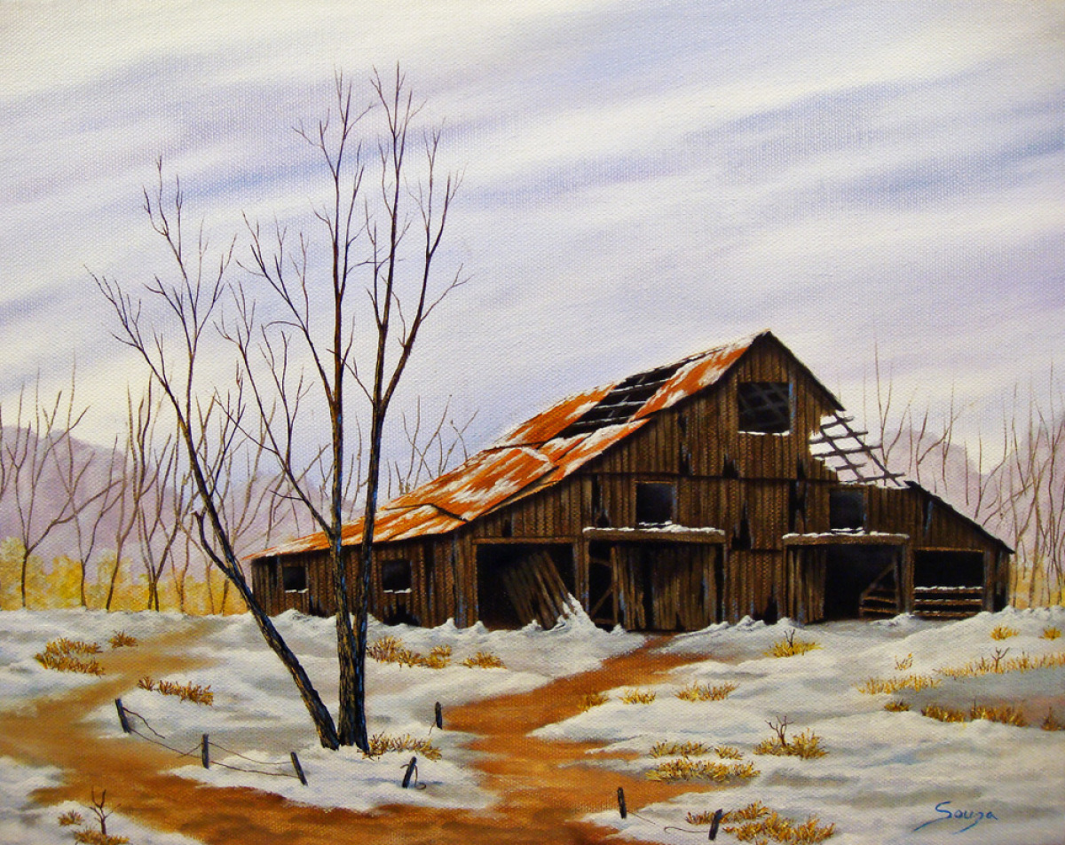 Snow Barn (large view)