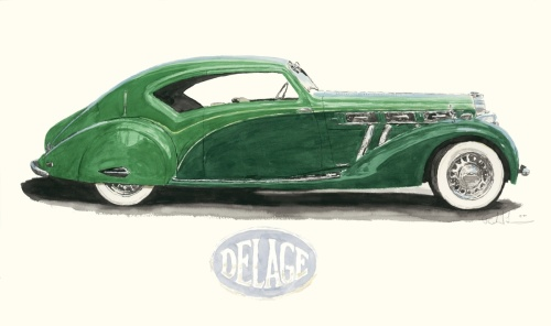 1939 Delage Profile (thumbnail)