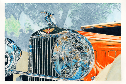 Hispano Suiza Chrome