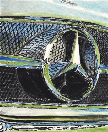 Mercedes Benz Grille
