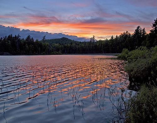 Sunset on Barnum Pond