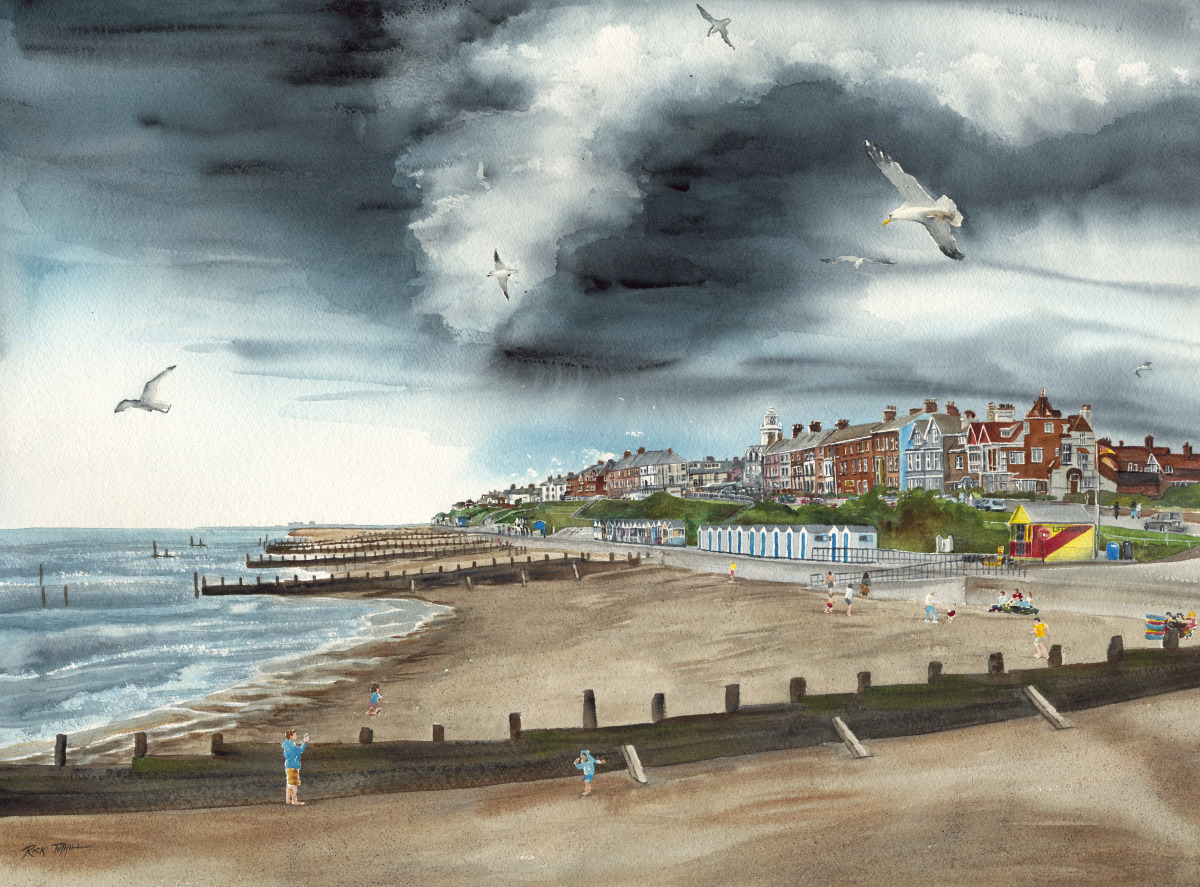 Storm Over Southwold (large view)