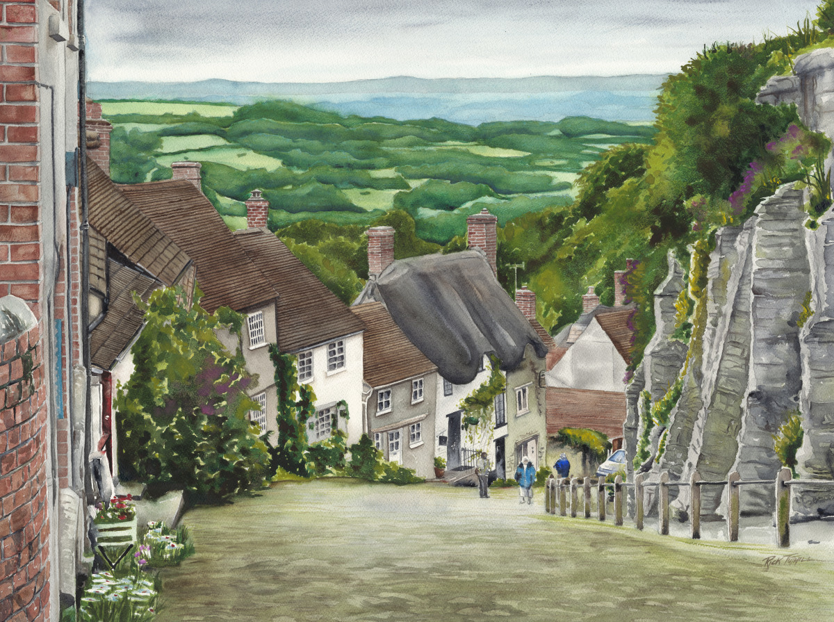 Gold Hill, Shaftesbury (large view)