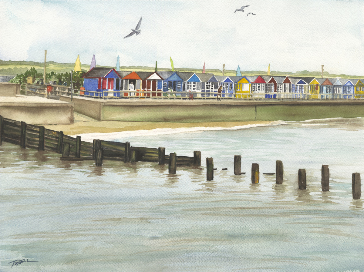 Southwold Beach Huts (large view)