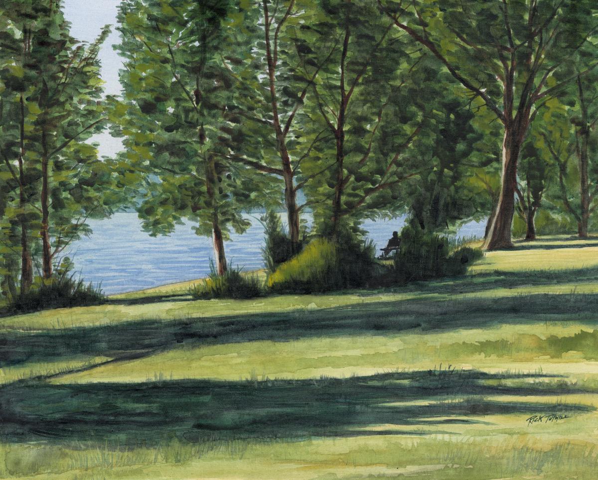 Greenlake Solitude (large view)