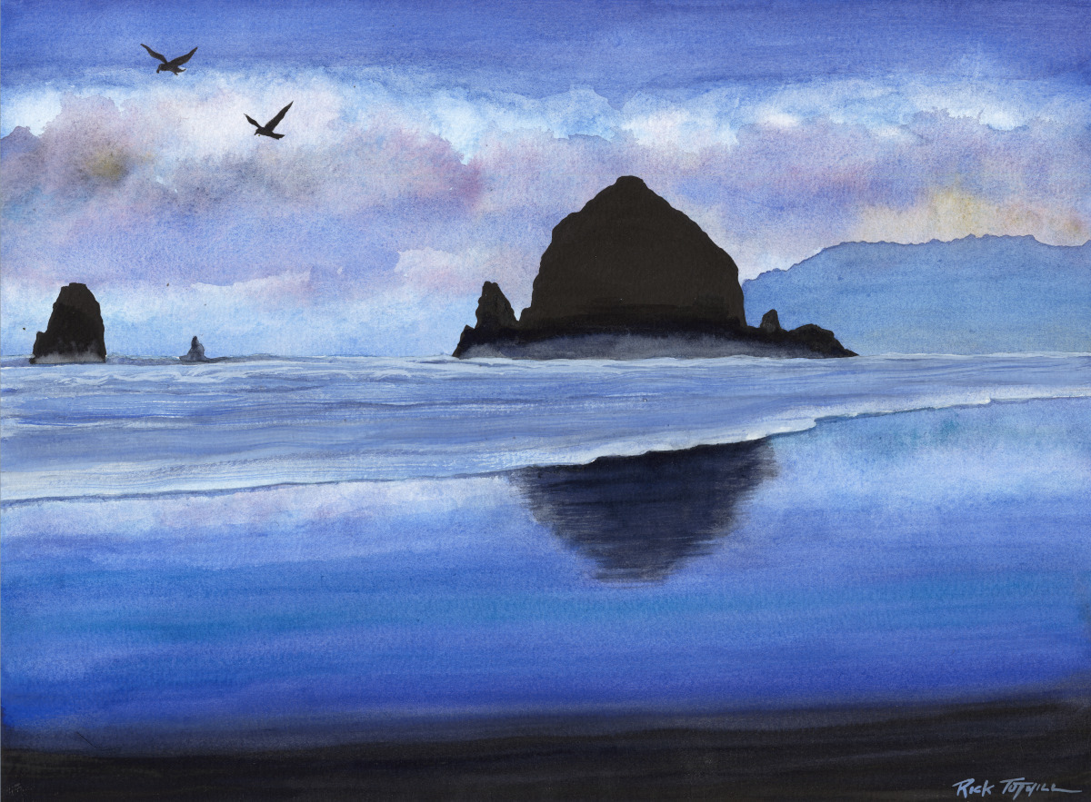 Haystack Rock (large view)