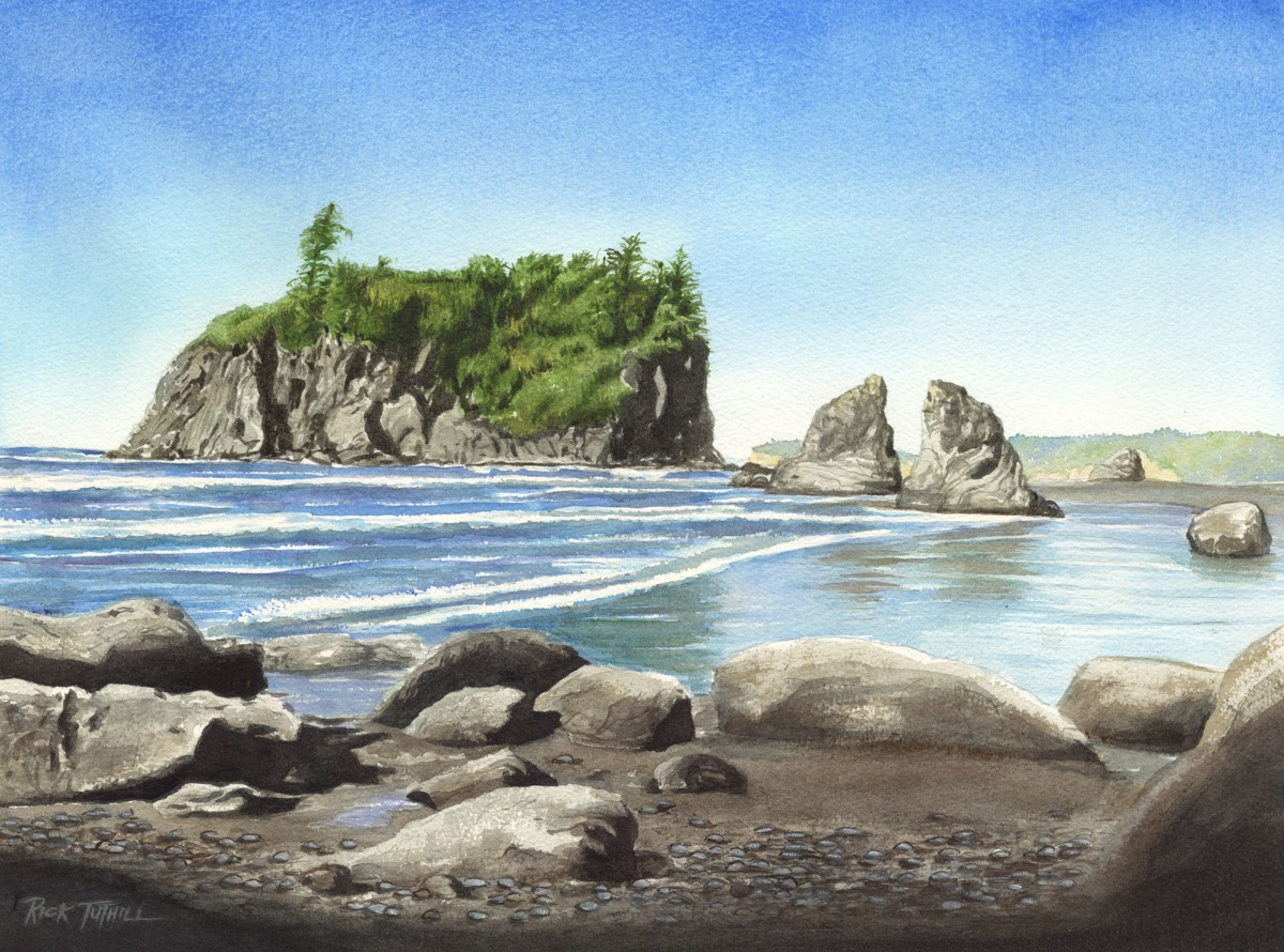 Ruby Beach Sea Stack (large view)