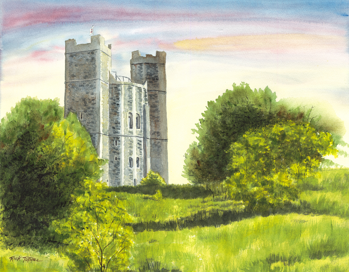 Orford Castle (large view)
