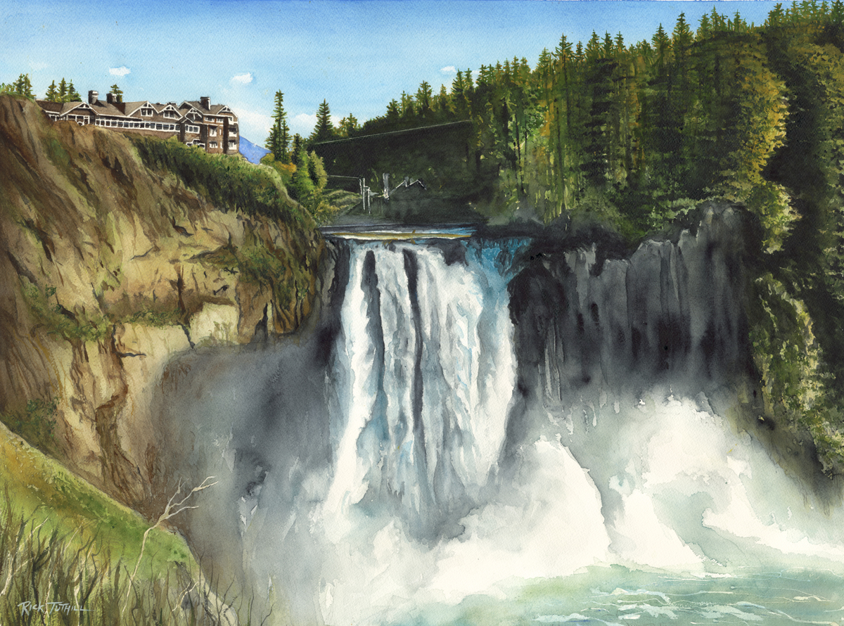 Snoqualmie Falls (large view)